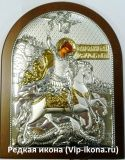Серебряная икона в Москве купить Николай Чудотворец