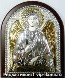Дорогую серебряную икону Ангела Хранителя купить для подарка интернет магазин