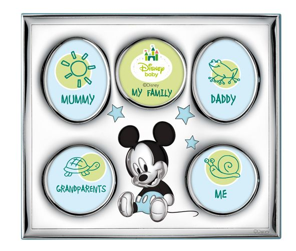 Детская серебряная фоторамка Disney (Италия)